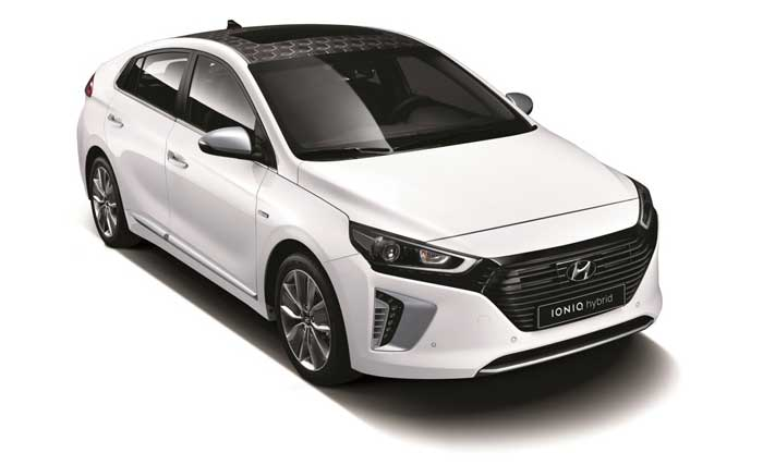 High tech 2017 Hyundai Ioniq