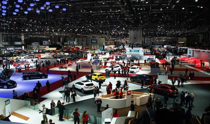 biggest auto shows of Geneva Motor