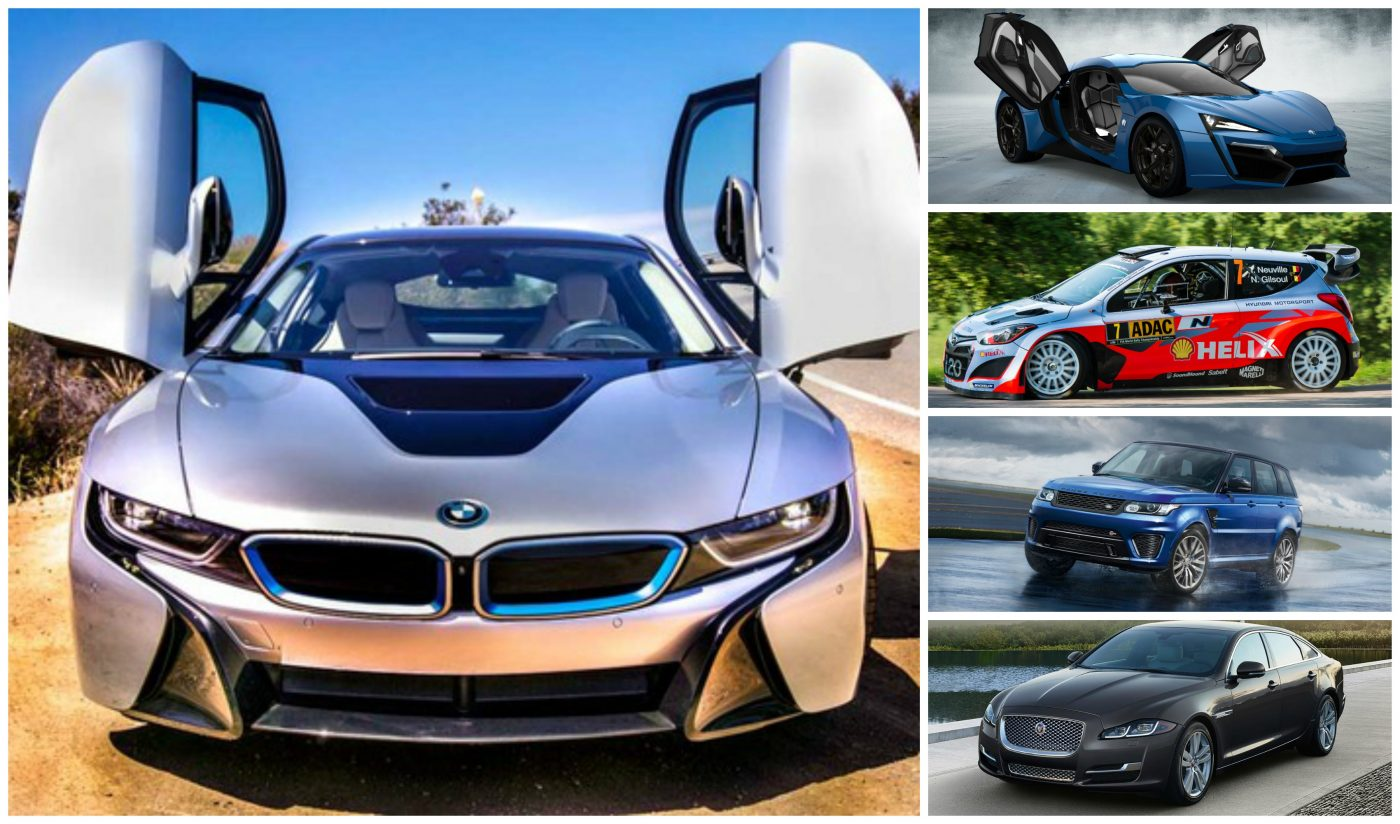 Dubai Motor Show Top Sports Cars With Amazing Features - Top 5 sports cars