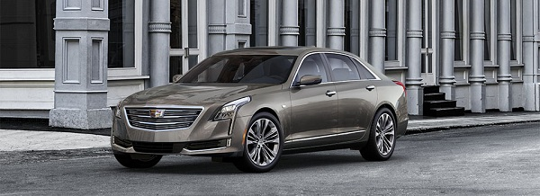 Cadillac CT6 with the new Cadillac's Super Cruise feature