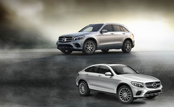 GLC SUV and Coupe by Mercedes-Benz