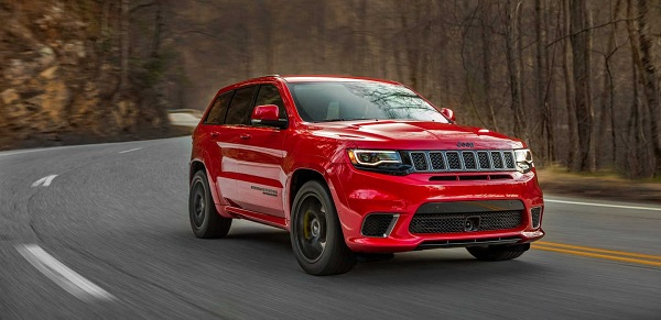 Jeep Grand Cherokee Trackhawk – Sports SUV in its truest sense