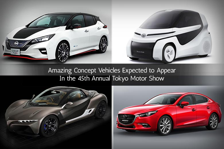 Upcoming Car Shows - Concept Vehicles Expected to Appear In the 45th Annual Tokyo Motor Show
