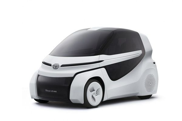 Upcoming Car Shows - Toyota Concept-I Ride in Tokyo Motor Show