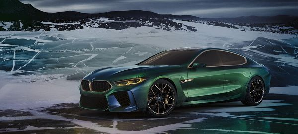 BMW Concept M8 Gran Coupe - Top Car Shows