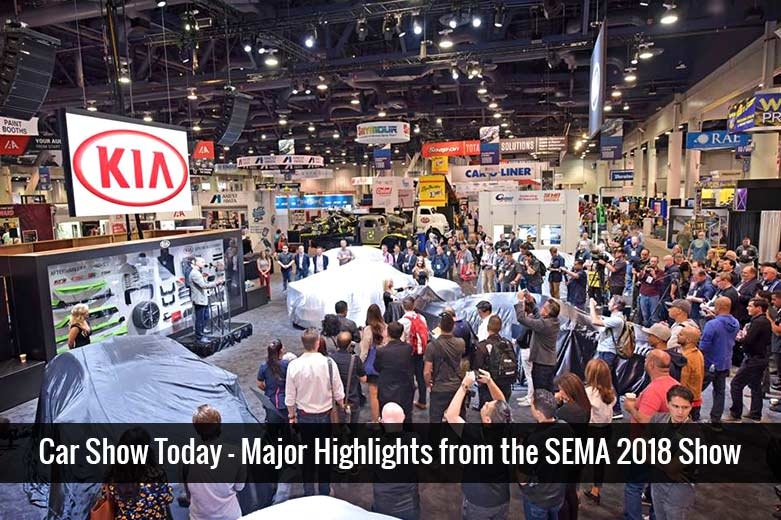 Car Show Today – Major Highlights from the SEMA 2018 Show